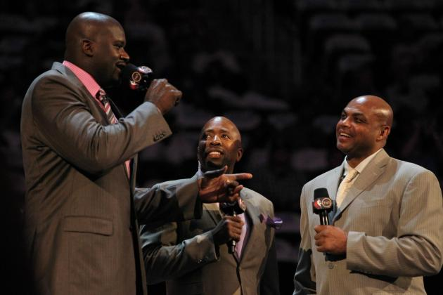 Shaquille O'Neal, Charles Barkley Squabble over Durant's Missed Shot