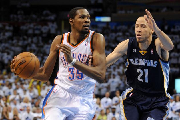 Grizzlies' Tayshaun Prince Says Kevin Durant Was Tough to Cover