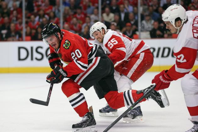 Red Wings Know They Need to Be Better After Game 1 Loss to Blackhawks
