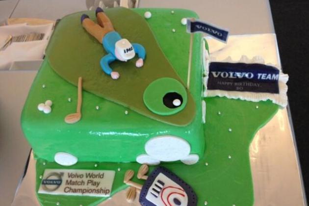 Bo Van Pelt Receives Very Strange Birthday Cake in Bulgaria