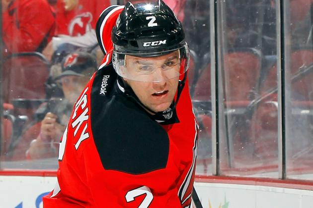 Lamoriello Would 'Certainly' Like Zidlicky Back with Devils