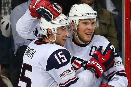 Paul Stastny, John Gibson Lead U.S. in 2013 Worlds Semifinals