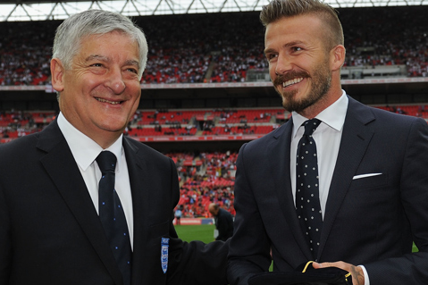 FA Chairman David Bernstein Leads Tributes to David Beckham