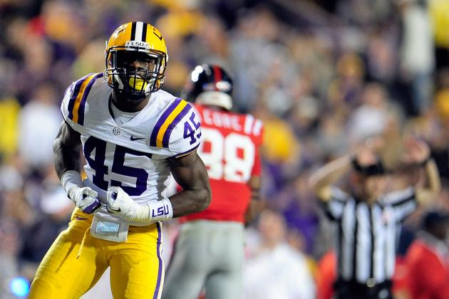 LSU Football 2013: Why the Tigers' Young LBs Will Ease Pain of Defensive Losses