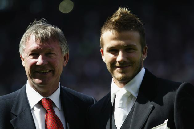 David Beckham and Sir Alex Ferguson Retirements Signal the End of an Era