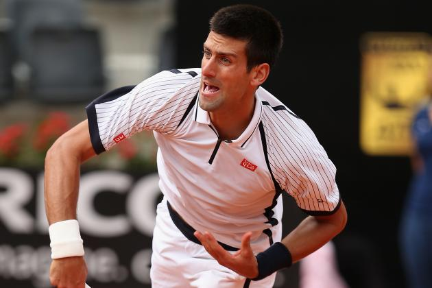Djokovic Beats Dolgopolov to Advance in Rome