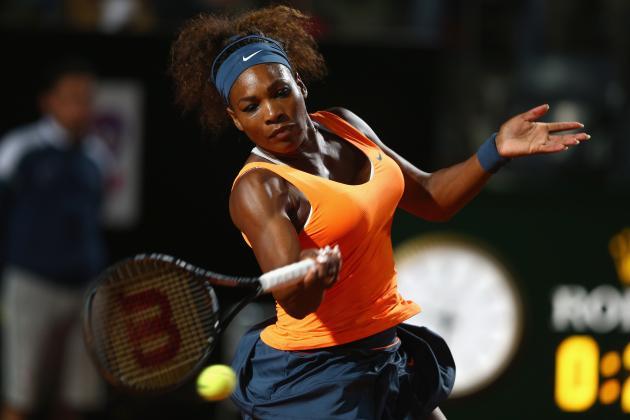 Super Serena Slays Cibulkova in Rome