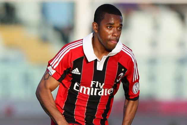 AC Milan Striker Robinho Plays Down Training Bust-Up