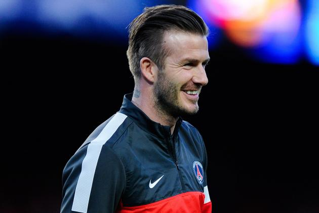 PSG's David Beckham Proud to Retire as a 'Champion'