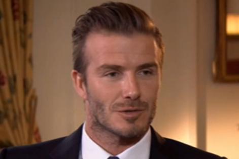 David Beckham Exclusive
