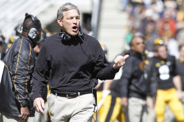 Ferentz Likes Any and All B1G Bowl Options