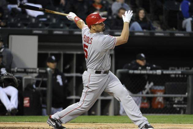 Pujols Not Blaming Balky Knee, Foot for Dip in Power