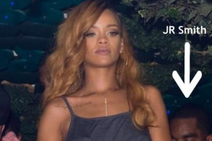 Rihanna Says JR Smith Is Thirsty and the Knicks Are WACK