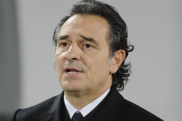 Prandelli Names Initial Confed Cup Squad