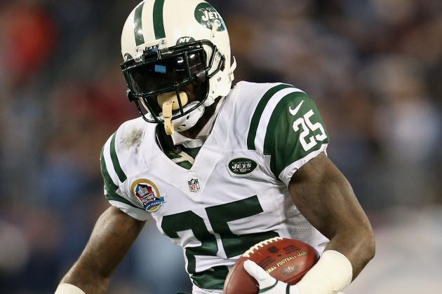Jets Joe McKnight: 'They're Going to Have to Kill Me to Take My Spot'