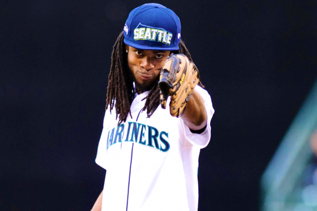 Richard Sherman Hires Shamed NFL Replacement Ref to Work Celebrity Softball Game