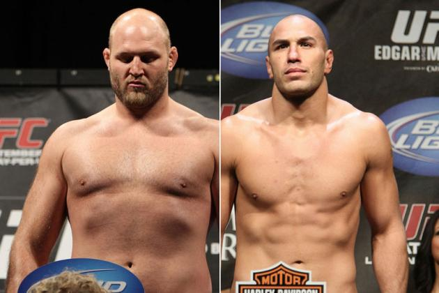 UFC 164: Brandon Vera vs. Ben Rothwell Fight Is Official for August 31
