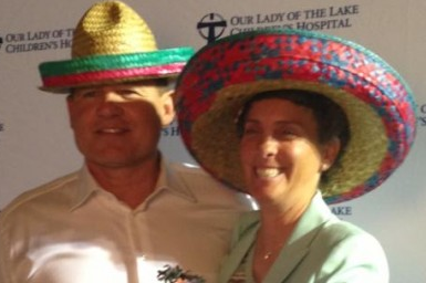 LSU Football: Les Miles Wears Sombrero at Fiesta (PHOTO)