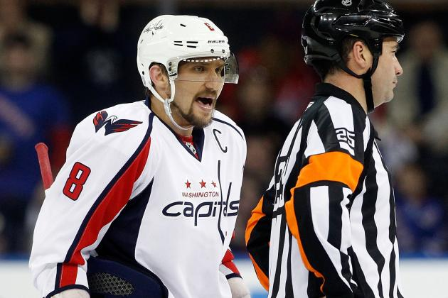 Alex Ovechkin Played with Fractured Left Foot in Games 6, 7 Against Rangers