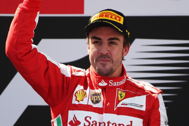 Alonso Fourth Highest Paid Sports Person on the Planet