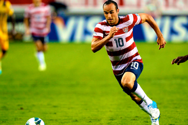 Landon Donovan Left off U.S. Men's National Team Roster for World Cup Qualifiers