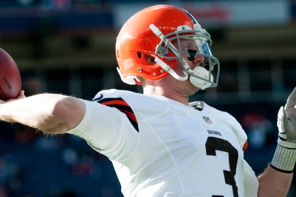 Weeden on Competition: 'This Is My Job. I Want to Be the Guy'
