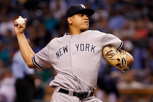 Report: New York Yankees Call Up Former Top Prospect Dellin Betances