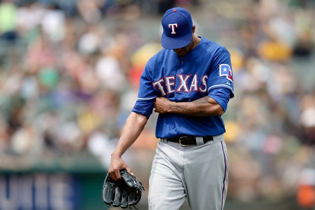 Rangers Place Alexi Ogando on the Disabled List