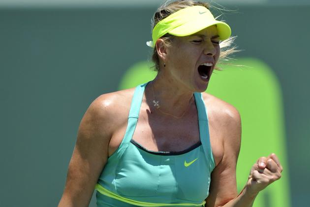 Sharapova, Azarenka Ease into Rome Quarters