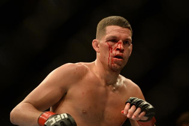 Report: Dana White Says Nate Diaz Could Be Cut From UFC For Gay Slur to Caraway