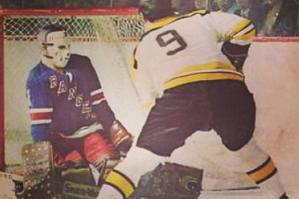 Instagram: Rangers vs. Bruins Program from 1973