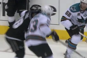 Video: Sharks' Torres Suspended for Remainder of Series