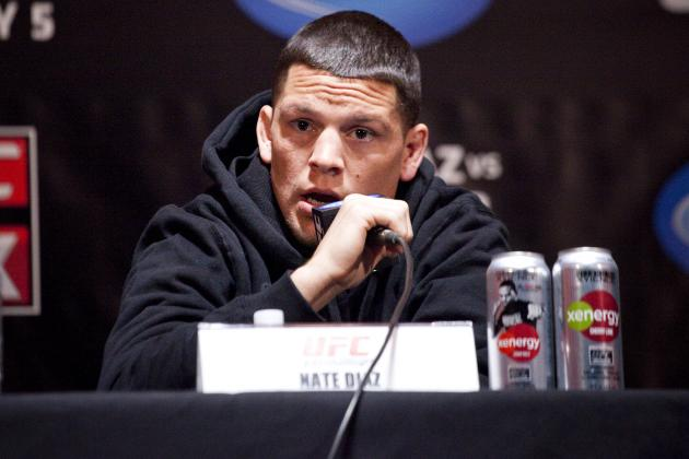 Dana White: Nate Diaz Will Be Fined or Fired for Homophobic Tweet
