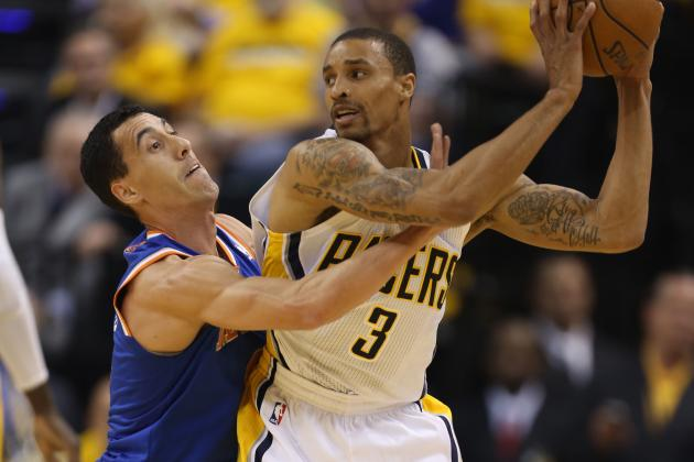 Knicks-Pacers Game 5: George Hill out with Concussion