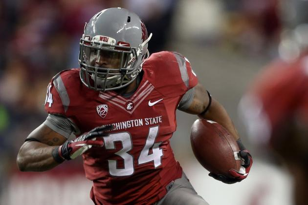 Coug RB Reportedly in Trouble with the Law