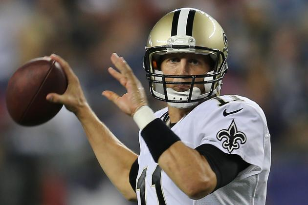 Luke McCown Knows How to Compete for a Role with the Saints