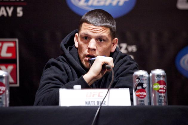 UFC Indefinitely Suspends Nate Diaz Following Homophobic Tweet