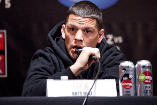 Nate Diaz Banned for Slur Against Caraway