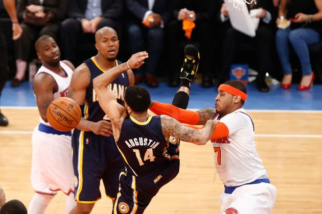 Refs Look to Maintain Order in Game 5 with Techs on Melo and Co.