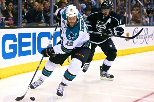 San Jose Sharks vs. Los Angeles Kings Game 2: Live Score, Updates, Analysis