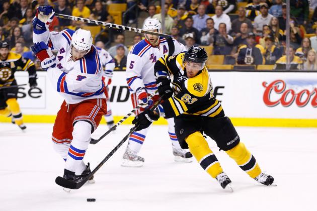 Rangers vs. Bruins Game 1: Score, Twitter Reaction and Analysis