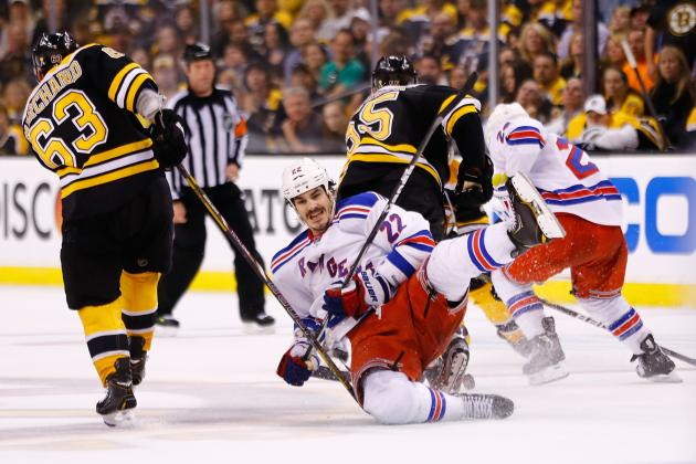 New York Rangers vs. Boston Bruins Game 1: Live Score, Updates & Analysis