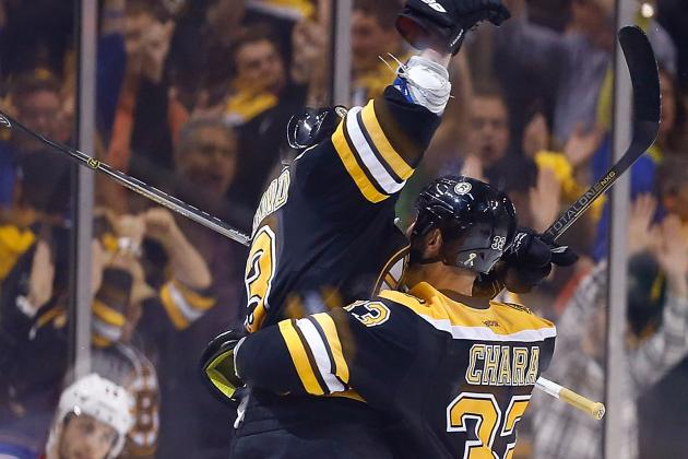 VIDEO: Brad Marchand Scores Overtime Winner for Bruins