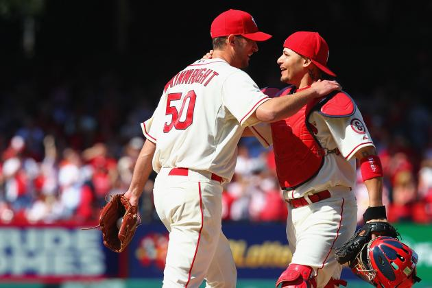 Adam Wainwright Leading St. Louis Cardinals Youth by Example