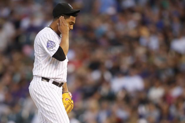 Rockies Fall to Giants After San Fran Rallies from 6-0 Deficit at Coors Field