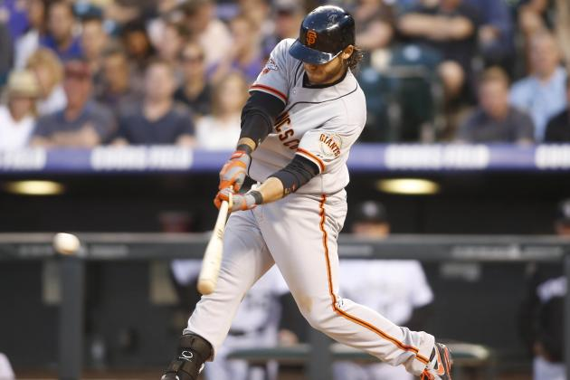 Giants Recover from 6-0 Hole, Rally to Beat Rockies