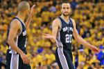 Spurs Top Warriors to Advance to West Finals