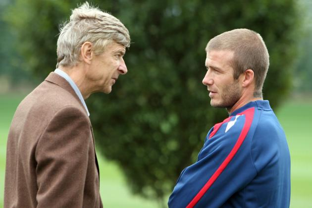 Arsène Wenger Tried to Sign David Beckham but Couldn't Afford His Wages