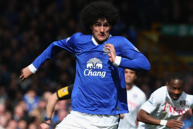 As Promised, Marouane Fellaini Colored His 'Fro Silver for Charity