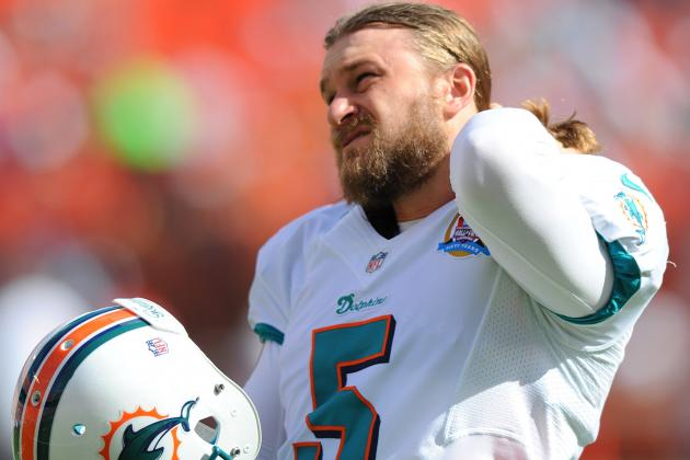 Miami Dolphins Kicker Dan Carpenter Knows There's a Battle Ahead